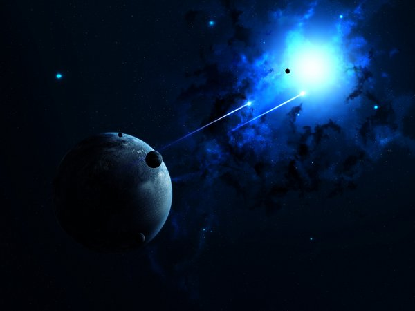 Gambar Planet Dan Luar Angkasa Yang Abstrak Ini Hanya