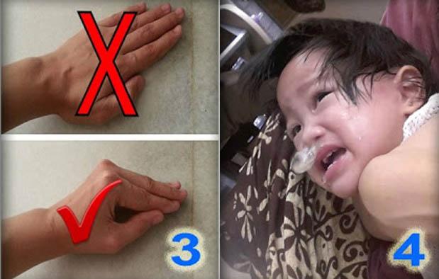 Cara Mengeluarkan Dahak pada Bayi
