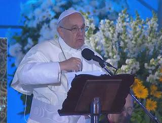 Jovens, o Senhor precisa de vocês, diz Papa em Vigília