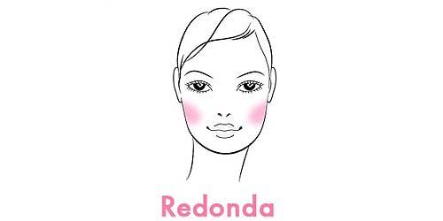 como aplicar el colorete segun la forma de tu rostro redondo