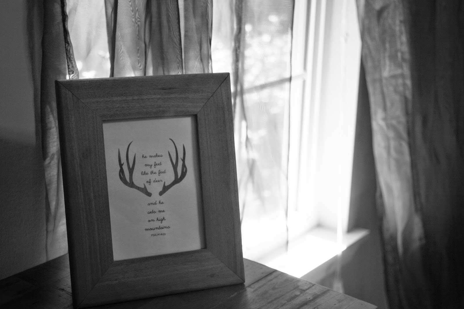 Melinda Wood Designs prints Psalm 42