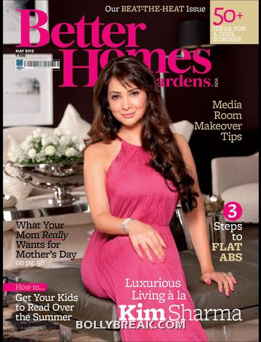 Kim Sharma Better Homes and Gardens cover Scan -  Kim Sharma's Scans from Better Homes and Gardens – May 2012