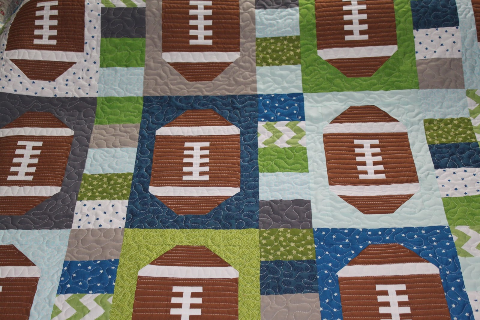 Quilt Patterns For Sports : Baby quilts on Pinterest Sports Quilts, Quilt Patterns and Kid Quilts