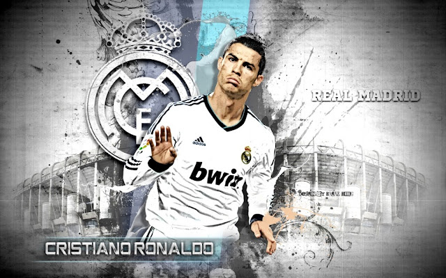 Cristiano Ronaldo Real Madrid - Wallpaper