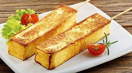 queijo coalho milanesa