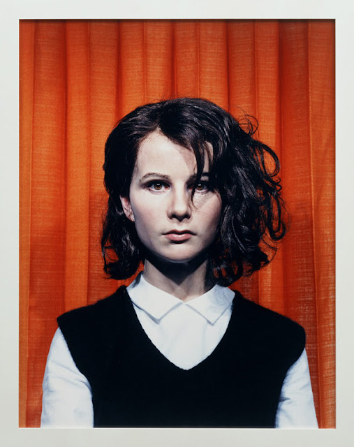 """Self portrait at 17 years old""  (2007) by Gillian Wearing"