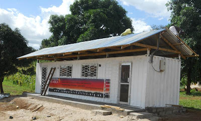 A complete classroom delivered to communities in Africa from Computers 4 Africa