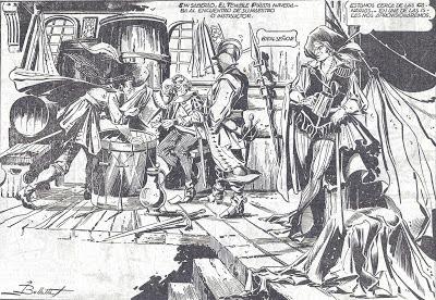 Viñeta del Temible Pirata por Bellalta