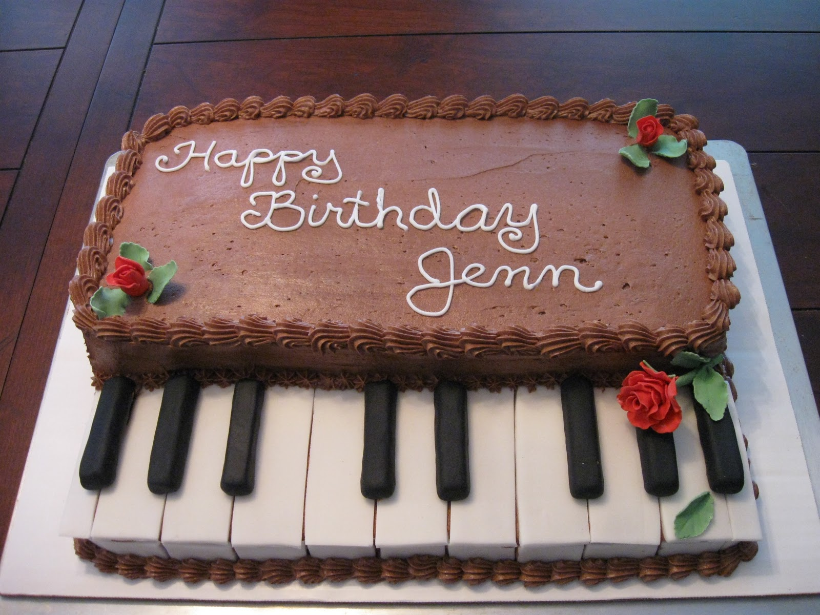 Keyboard Cake Ideas