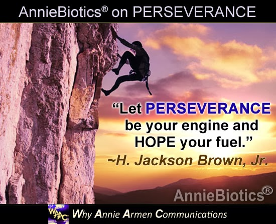 Yes You Can!  NEVER GIVE UP! ~Annie Armen, Communications Artist