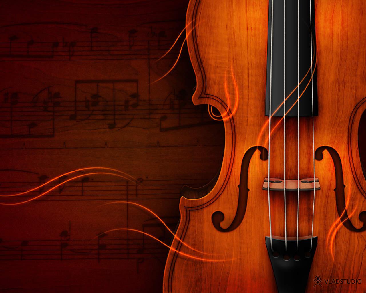 best music violin wallpaper