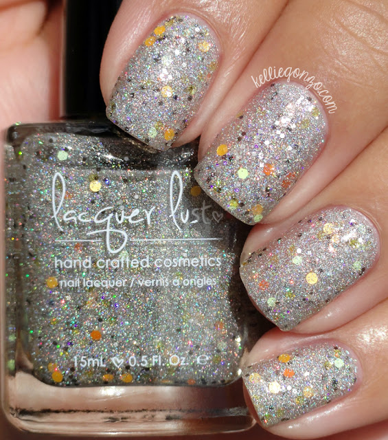 Lacquer Lust Candy Corn and Unicorns