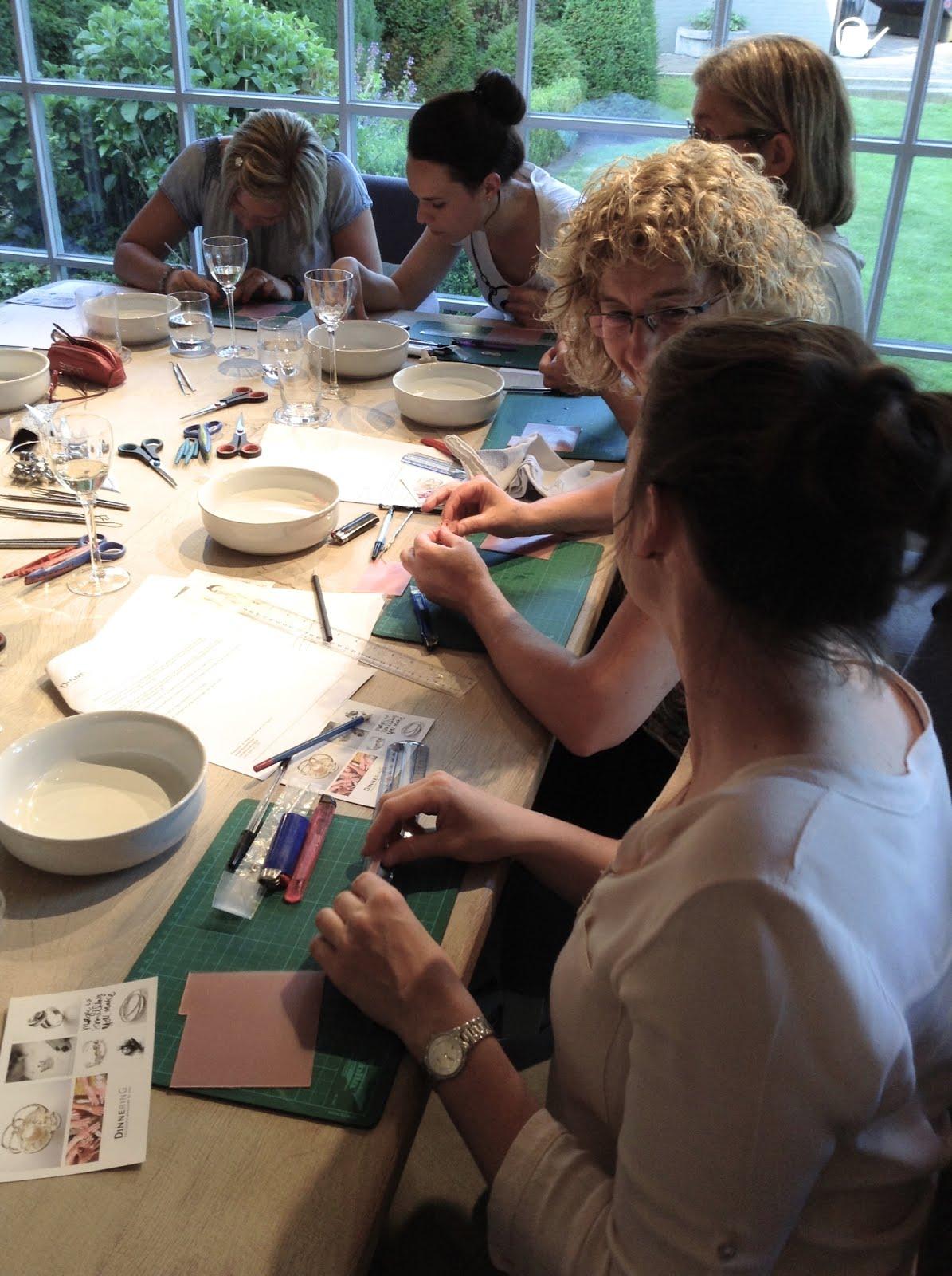 We love: DinnerinG, maak zelf het juweel van je dromen. Workshop op 19 november '17 in YENN, Leuven