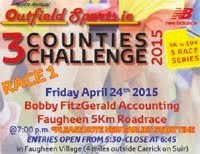 5k race nr Carrick-on-Suir, Tipperary