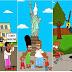 Los Simpson, afroamericanos acosados por la Policía