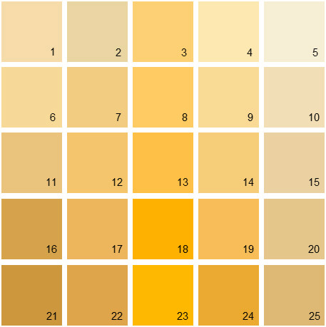 The Gallery For Gold Color Swatch Paint