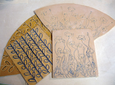 Example of a Linoleum Cut for Printmaking