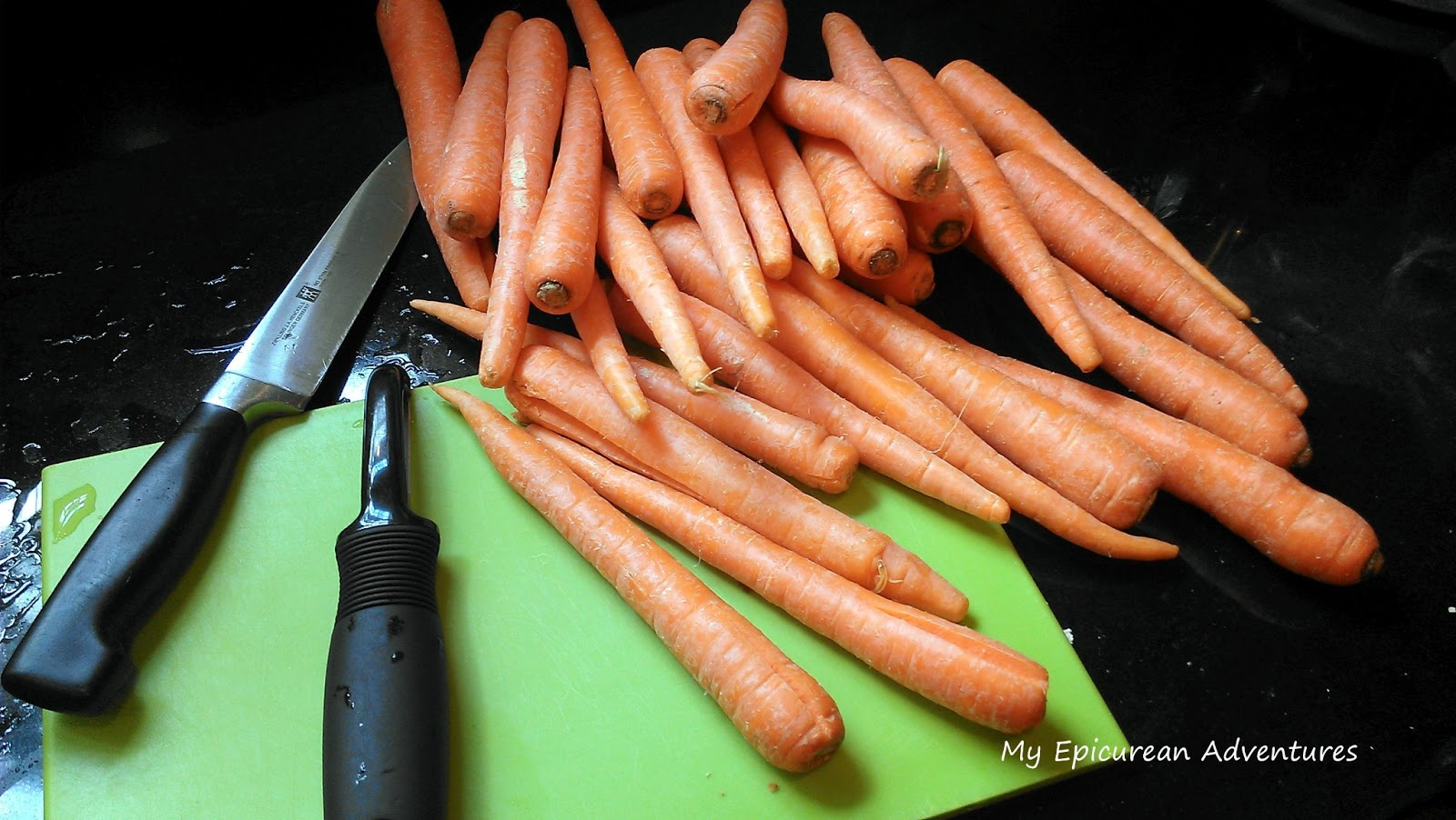how to keep carrots fresh once cut