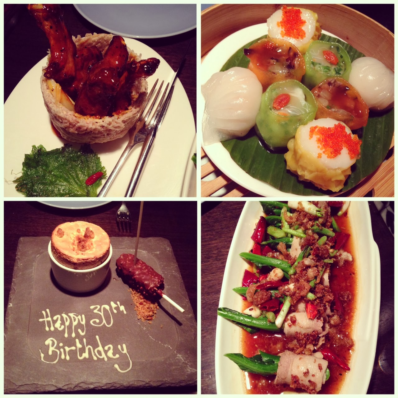 Birthday Dinner @ Hakkasan Mayfair