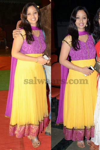 Malavika Lemon Yellow Salwar