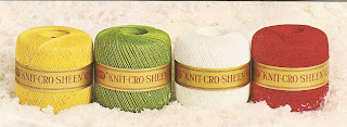 Mercerized Crochet Cotton, Knit-Cro-Sheen