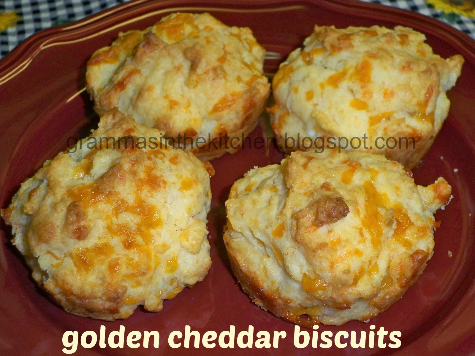 Golden biscuit