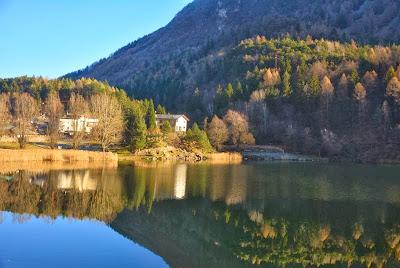 lago lases valle cembra trentino