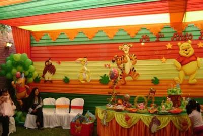 Decoración para fiestas infantiles: Winnie the Pooh