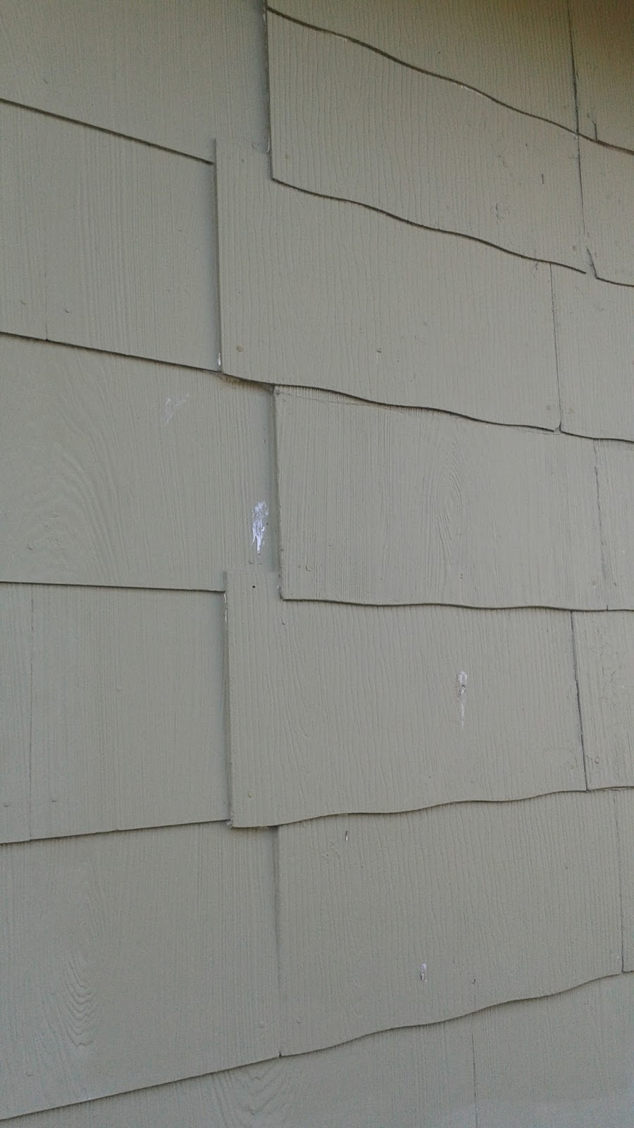 Finding physical evidence original german siding home for Types of siding