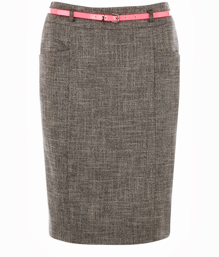 diagonal pocket pencil skirt all wrapped up