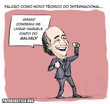 Charge Falcão demitido do Internacional