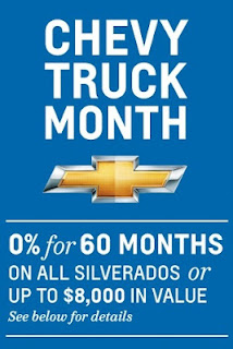 Chevy Truck Month at Graff Chevrolet Bay City