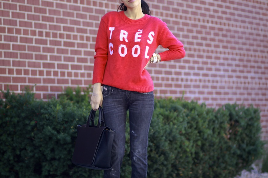 ASOS, Tres cool, pullover, graphic, sweater,