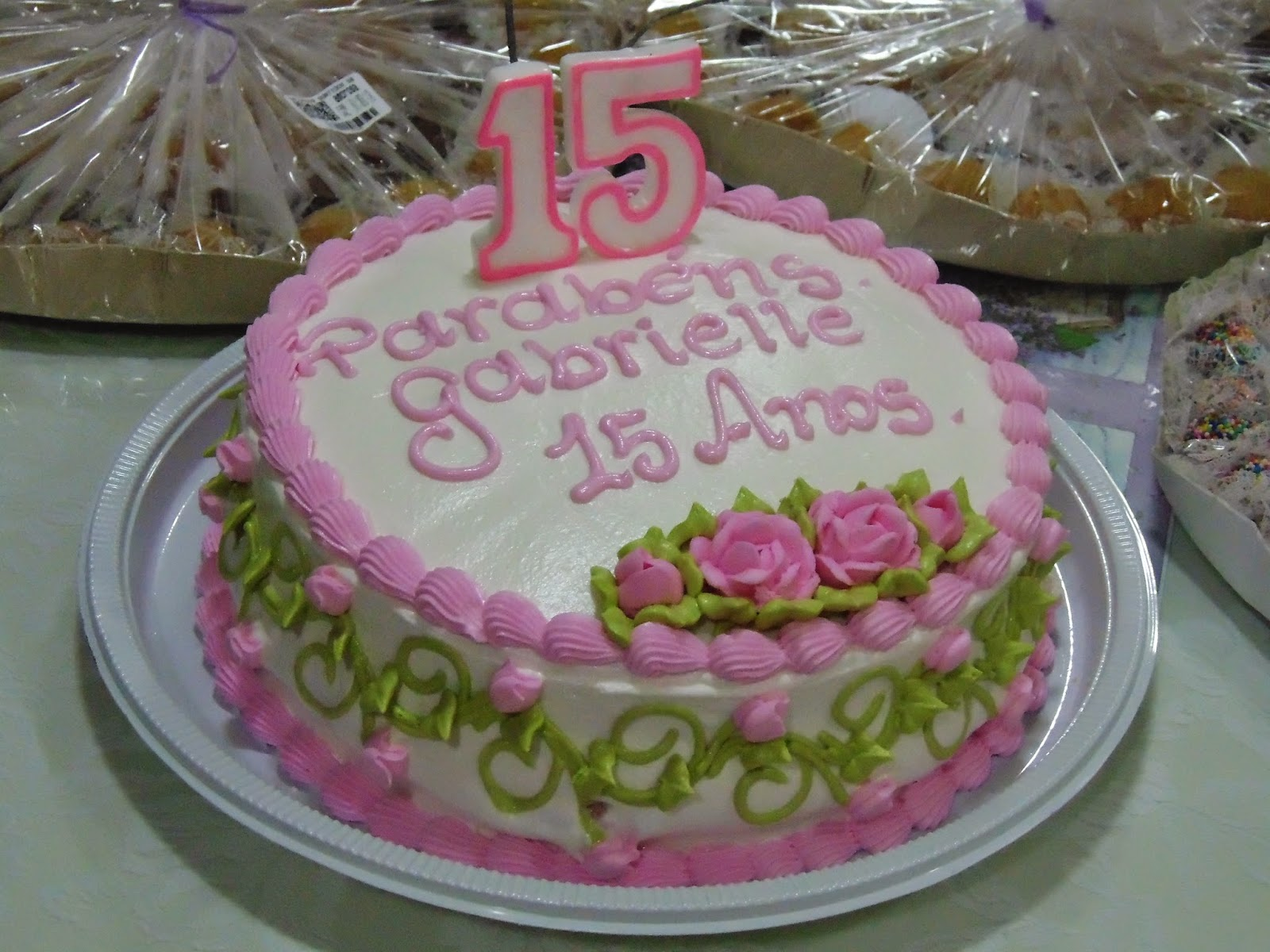 Um Pequeno Conto Aniversário Surpresa da Gabrielle