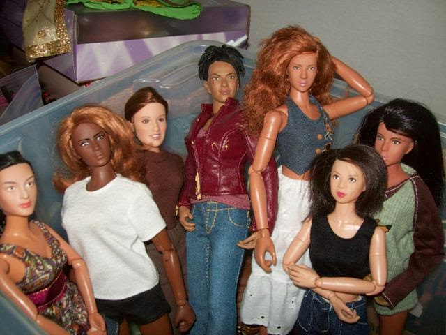 Dragon Linh, Bbi Perfect Body, Hasbro Leia, Character Options Martha, Aoshima/Skynet Girl's/Lady's Mission