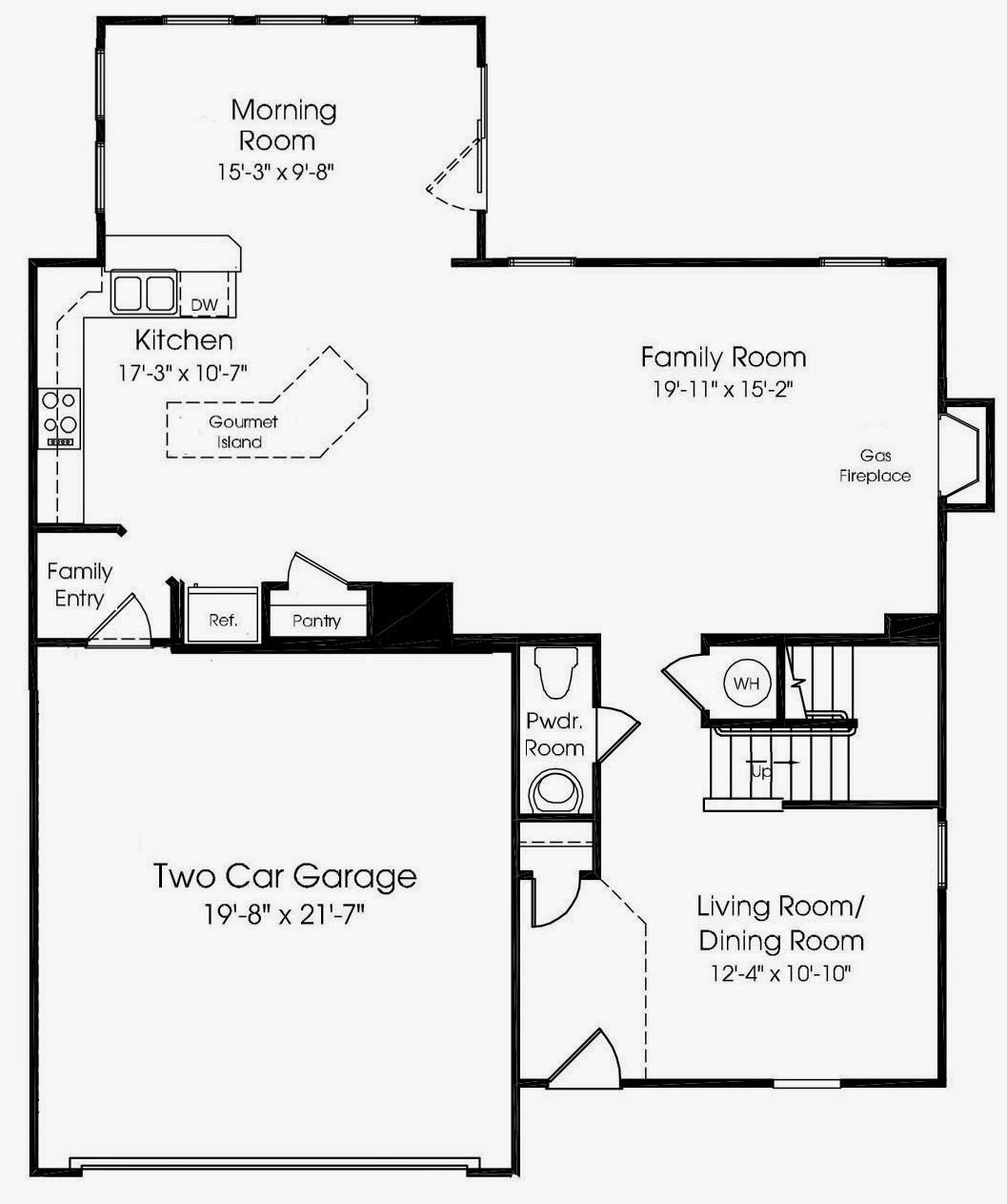 Venice floor plan our venice home at culpepper landing for Ran homes plans