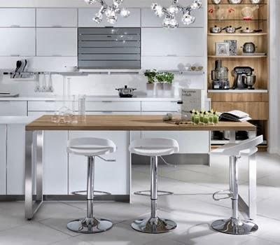 Kapataz ideas para renovar tu cocina for Mesas altas de cocina