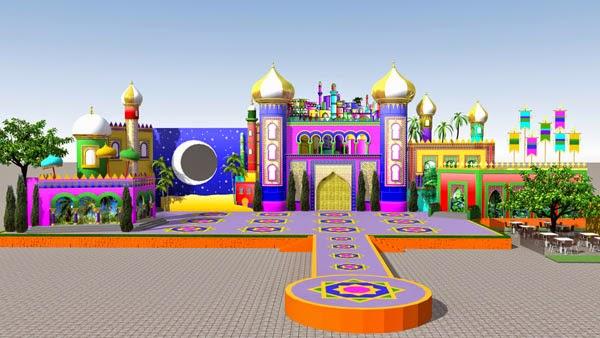 El palacio del Carnaval de Las Palmas de Gran Canaria en Santa Catalina