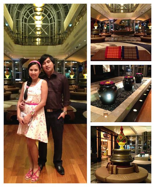 Dusit Thani Hotel's Lobby