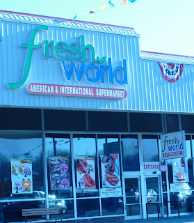 Fresh World market exterior