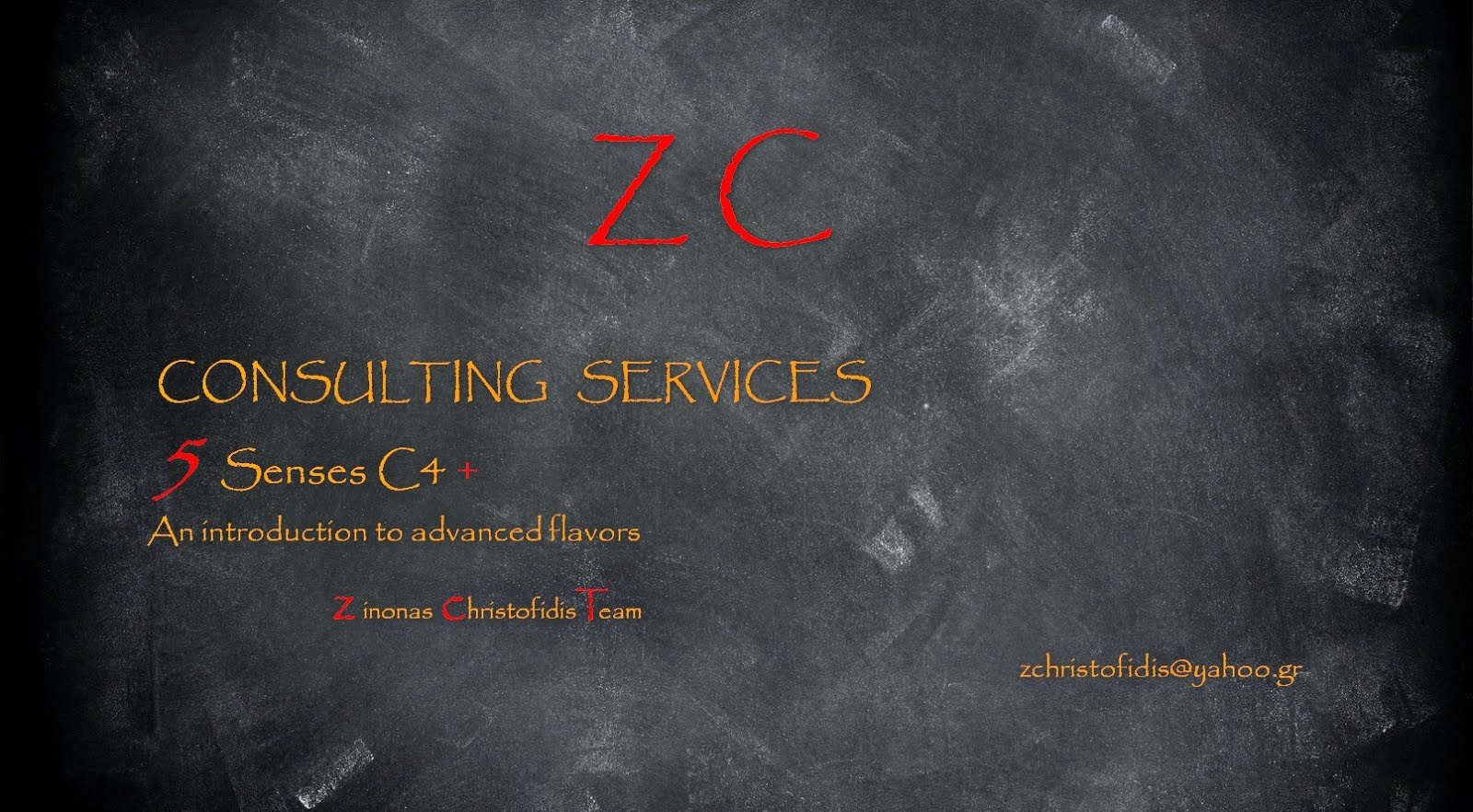 Consulting services  info