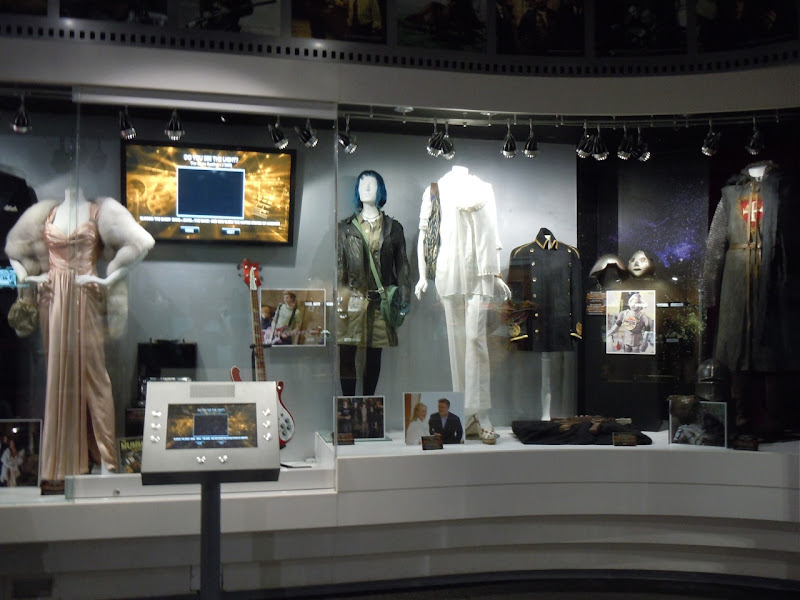 Universal movie costume display