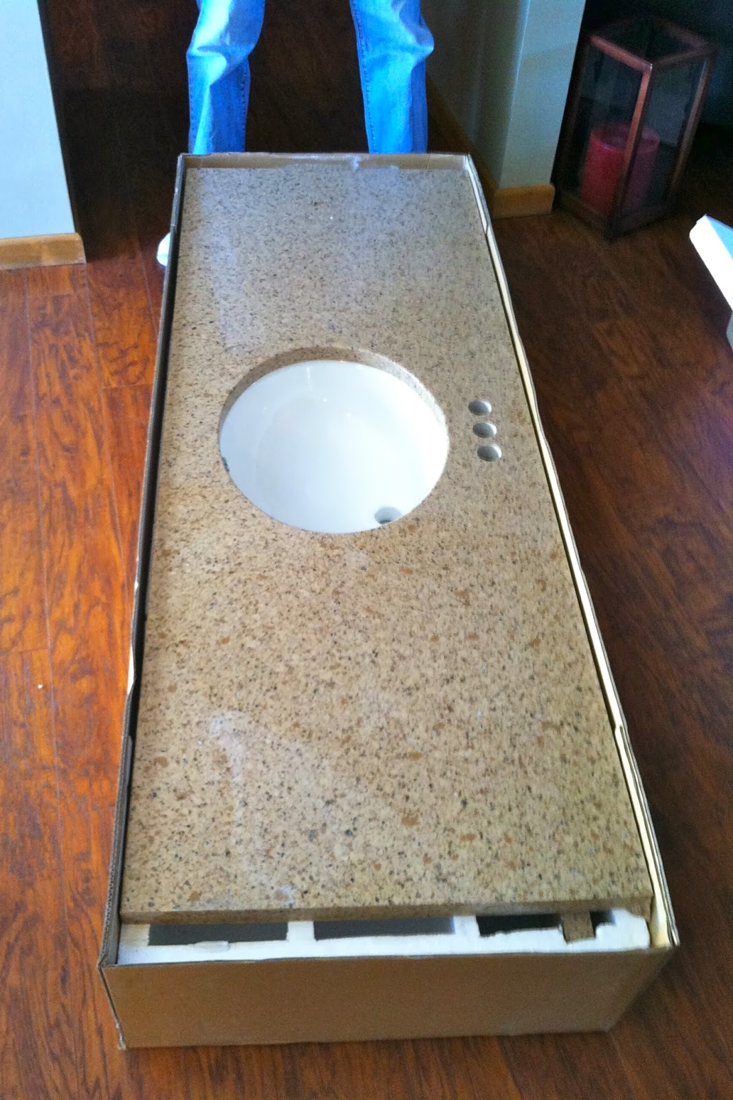 DIY Why Spend More: Cutting a quartz countertop to size