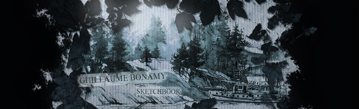 Guillaume Bonamy Sketchbook