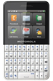 Motorola EX119 Dual SIM Touchscreen Mobile with QWERTY Keypad