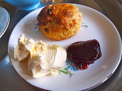 Perfect scone cream tea