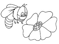 Cute Bumble Bee Coloring Pages Realistic