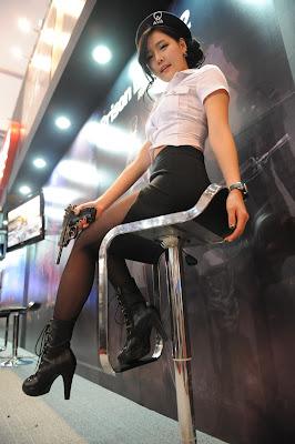 Sexy Han Ga Eun Prison Break Promo