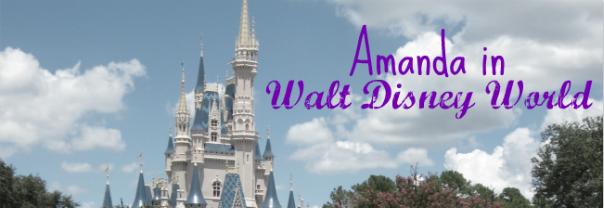 Amanda in Walt Disney World