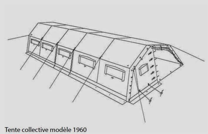 souvenez vous 44 les tentes collectives de l 39 armee francaise. Black Bedroom Furniture Sets. Home Design Ideas